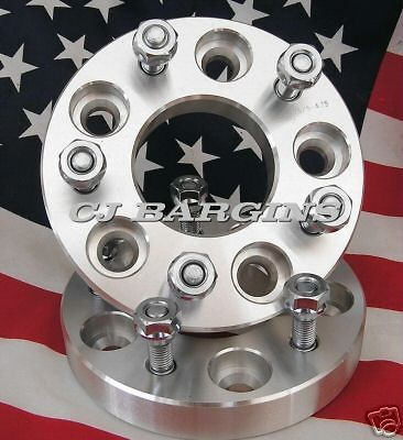75 = 5X120.7MM CHEVY GMC OLDS PONTIAC  5LUG  WHEEL ADAPTERS SPACERS