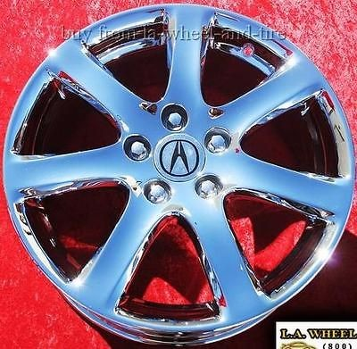 NEW 17 ACURA TSX OEM FACTORY CHROME WHEELS RIMS RSX TL CL RL 71731