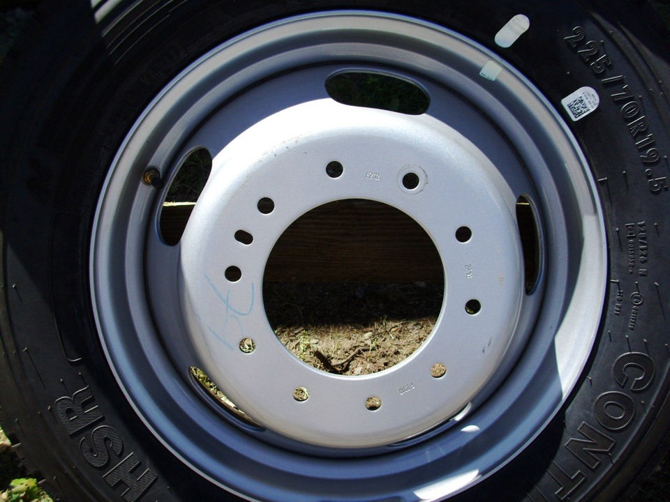 DODGE RAM 4500 5500 STEEL WHEEL SPARE 19.5x6 MOPAR OEM 2010 DODGE