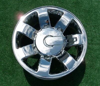 GM OEM FACTORY Chrome 20 inch WHEELS Chevy GMC 2500HD 2500 HD Sierra