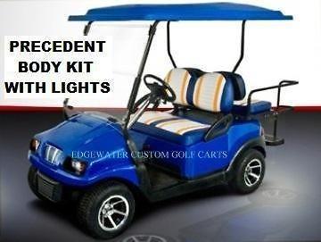 PRECEDENT CLUB CAR GOLF CART CUSTOM BODY With LIGHTS*