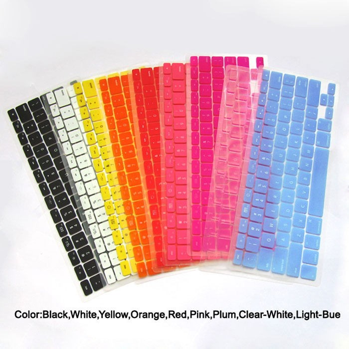 1PCS Silicone Keyboard cover skin for macbook PRO 13.3 (1/9 Colors)