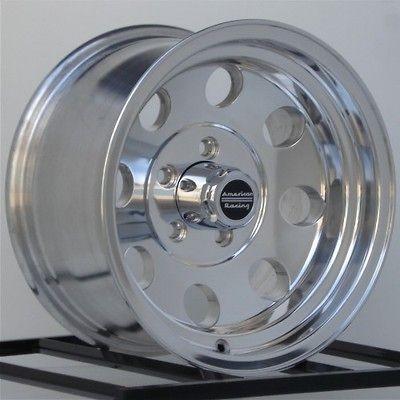 15 inch Wheels Rims Chevy GMC Truck Astro Van GMC 5 Lug 5x5 15x7 Set