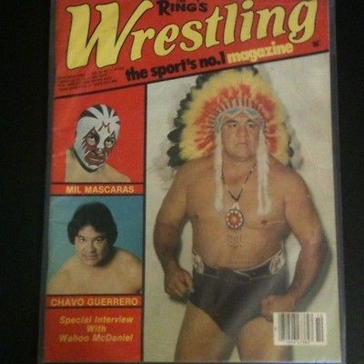 RIng Wrestling Magazine Oct 1983 Wahoo McDaniel Womens Girls WWE NWA