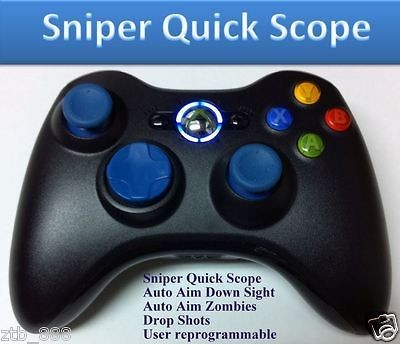 BLACK OPS 2 XBOX 360 RAPID FIRE MODDED CONTROLLER QUICK SCOPE DROP