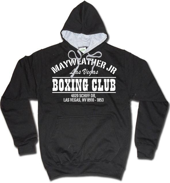 FLOYD MAYWEATHER HOODY BOXING CLUB HOODIE MONEY DIBBS CLOTHING