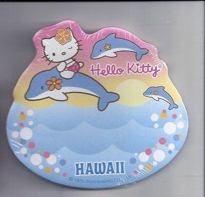 Sanrio Hello Kitty Sticky Notes Hawaii Dolphins #14