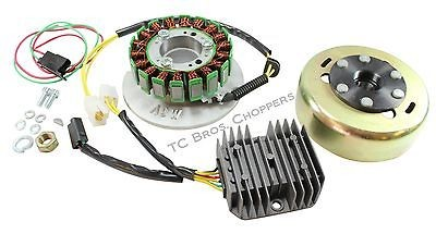 Permanent Magnet Alternator Kit PMA Hardtail Chopper Bobber xs 650