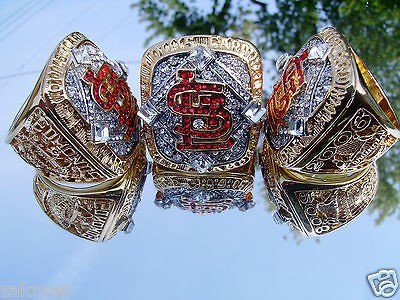 Newly listed 2011 St Louis Cardinals World Series Championship Ring
