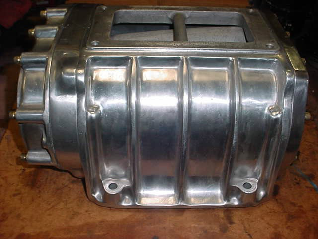 POLISHED 4 71 471 BLOWER SUPERCHARGER FOR BBC SBC HEMI FORD HOT ROD