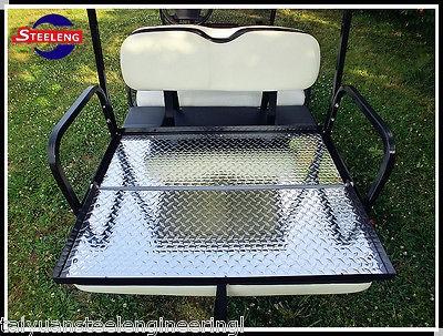 Rear Flip seat kit for Club Car Golf Cart DS Model ( 2000 2011 / Buff