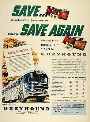 Bus Ticket Round Trip Fares Price America Tours One Way Travel