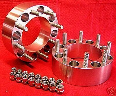 Chevy  GMC  dually  HD  2500  3500 2  6061 T6  WHEEL SPACERS
