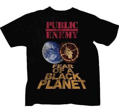 Public Enemy   Fear of a Black Planet   Large T Shirt