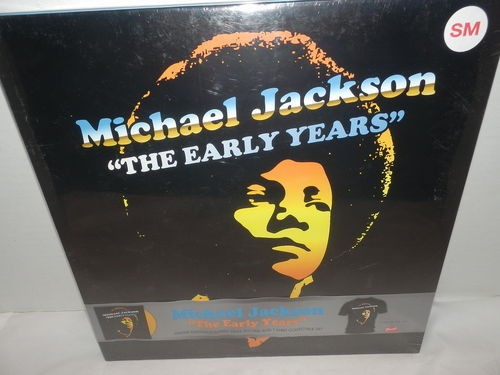 michael jackson the early years yellow vinyl box set sm