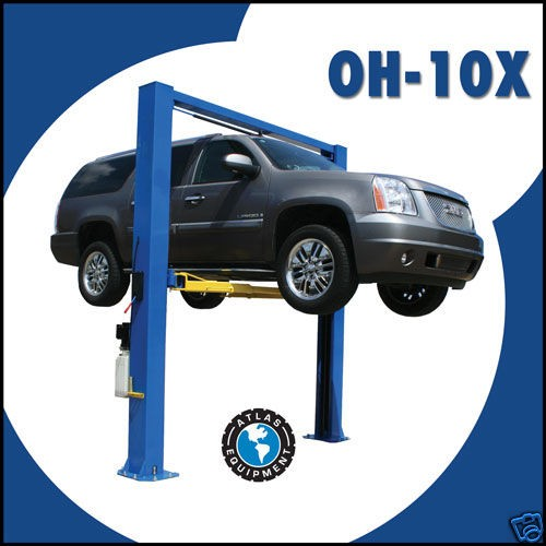 10000 Lb Car Lift >> Newly listed Atlas OH 10X 10,000 LB. 2 Post Auto Car Truck ...