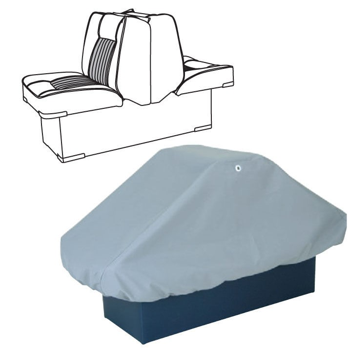 Enjoyable Back To Back Pontoon Boat Seat Cover 50 X22 X22 Alphanode Cool Chair Designs And Ideas Alphanodeonline