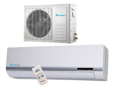 Btu Klimaire 13 SEER Ductless Mini split Heat Pump Air conditioner