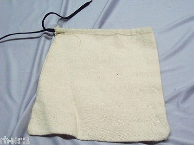 & wwi wwii us shelter half tent peg bag reproduction time