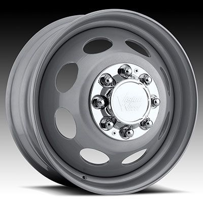 19 5 Steel Wheels Chevy GMC 8 Lug Dually