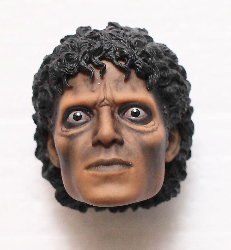 HOT TOYS MICHAEL JACKSON MJ THRILLER 1 6 WERECAT WEREWOLF HEAD