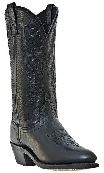 Cowboy Boots Black Medium B M Laredo Abby 51071 Round Toe
