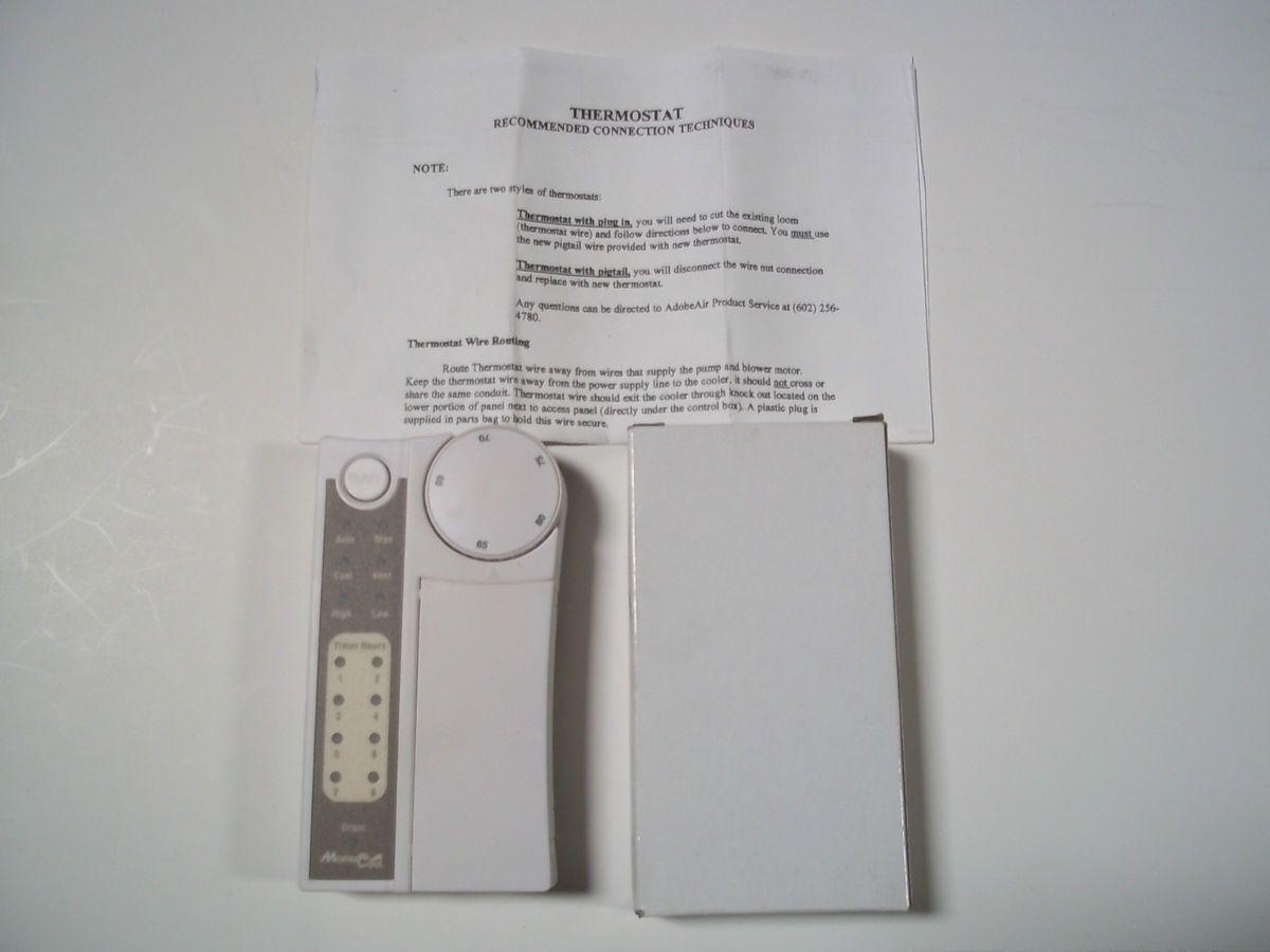 Adobe Air Mastercool Plus P225201A Evaporative Cooler Thermostat