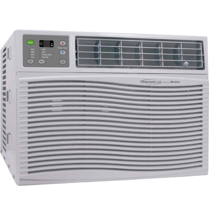 18000 BTU Window Air Conditioner + Heater ~ Portable AC Heat