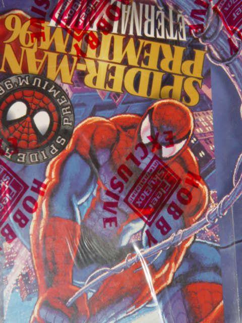 1996 Fleer Skybox Spider Man Premium Factory SEALED Box