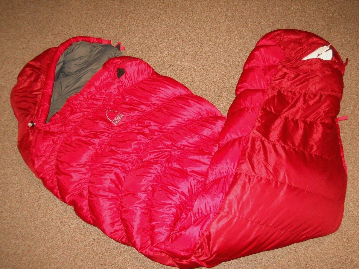 Sierra Designs Genuine Arrow Rock 15 Long 600 Fill Down Sleeping Bag