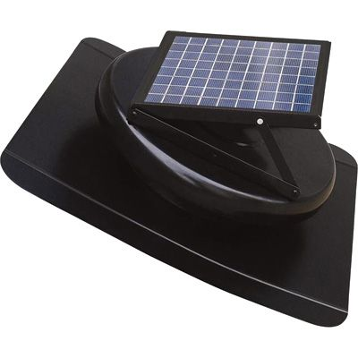 Honeywell Solar Attic Fan 6 Watts 350 CFM 527HHON001BLK