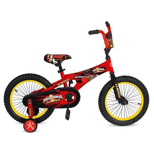 Avigo 12 inch Power Rangers Samurai Bike Boys Yellow zNI