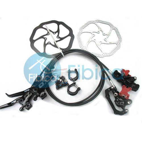 New 2013 SRAM Avid Elixir X0 x 0 XO Hydraulic Disc Brake Set Black w