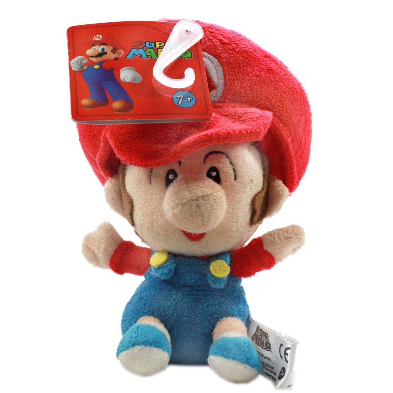 Super Mario Bros Baby Plush Set of 3 with Mario Luigi Peach New