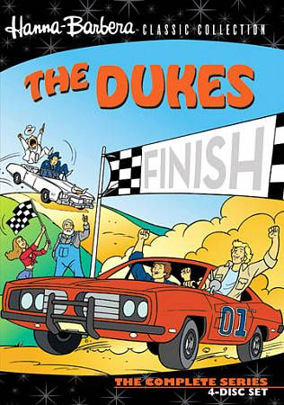 The Dukes The Complete Series DVD, 2010, 4 Disc Set