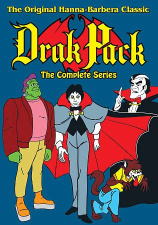 Drak Pack The Complete Series DVD, 2011, 3 Disc Set