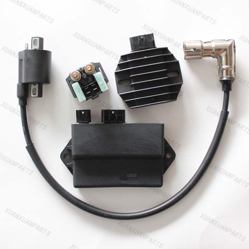 Four Wheeler Coils : Hisun atv quad wheeler cdi box ignition coil