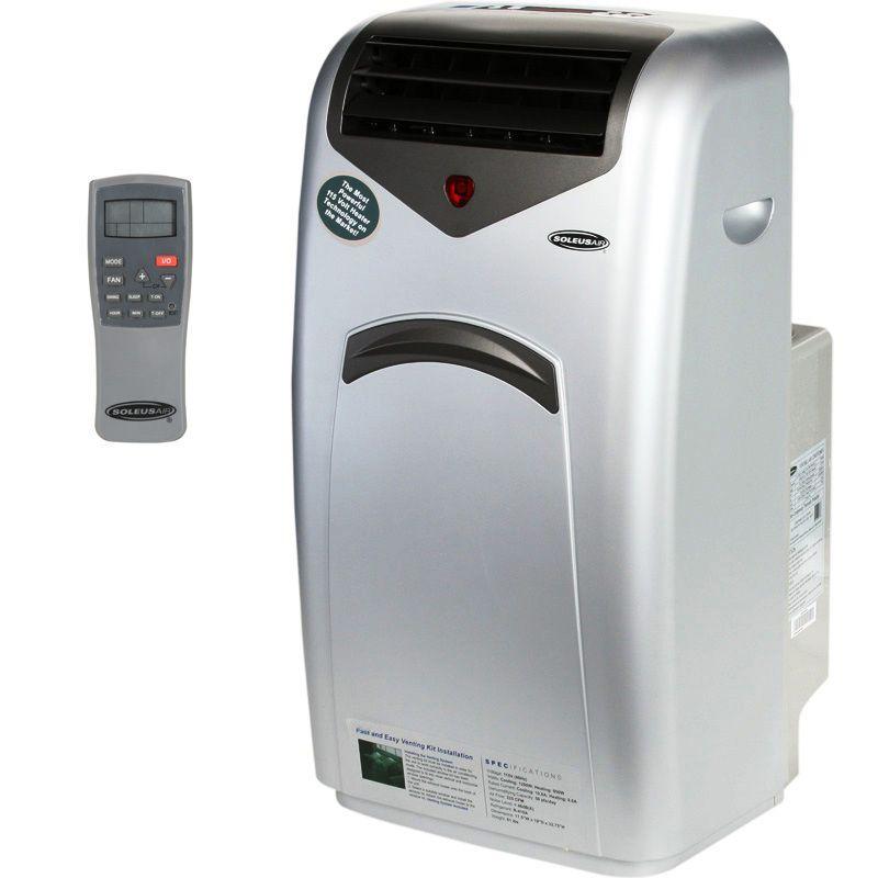Air Conditioner Heat Pump Dual Hose AC Dehumidifier Fan Window