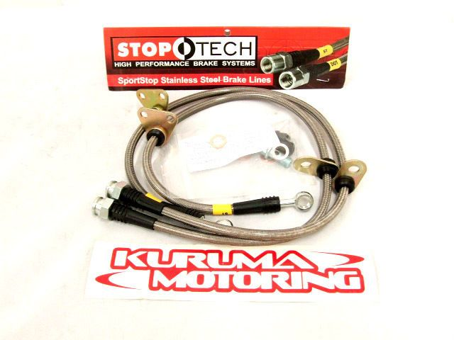 FORD F150 (2WD) 99 03 (F) StopTech Stainless Steel Brake Lines (SS