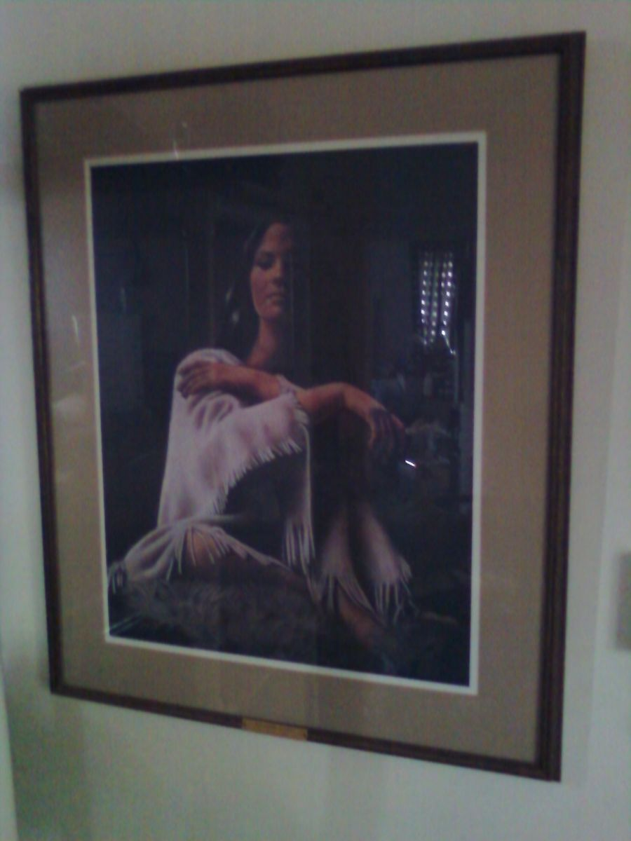 Penni Anne Cross ish Bahba E Ches Signed and Numbered
