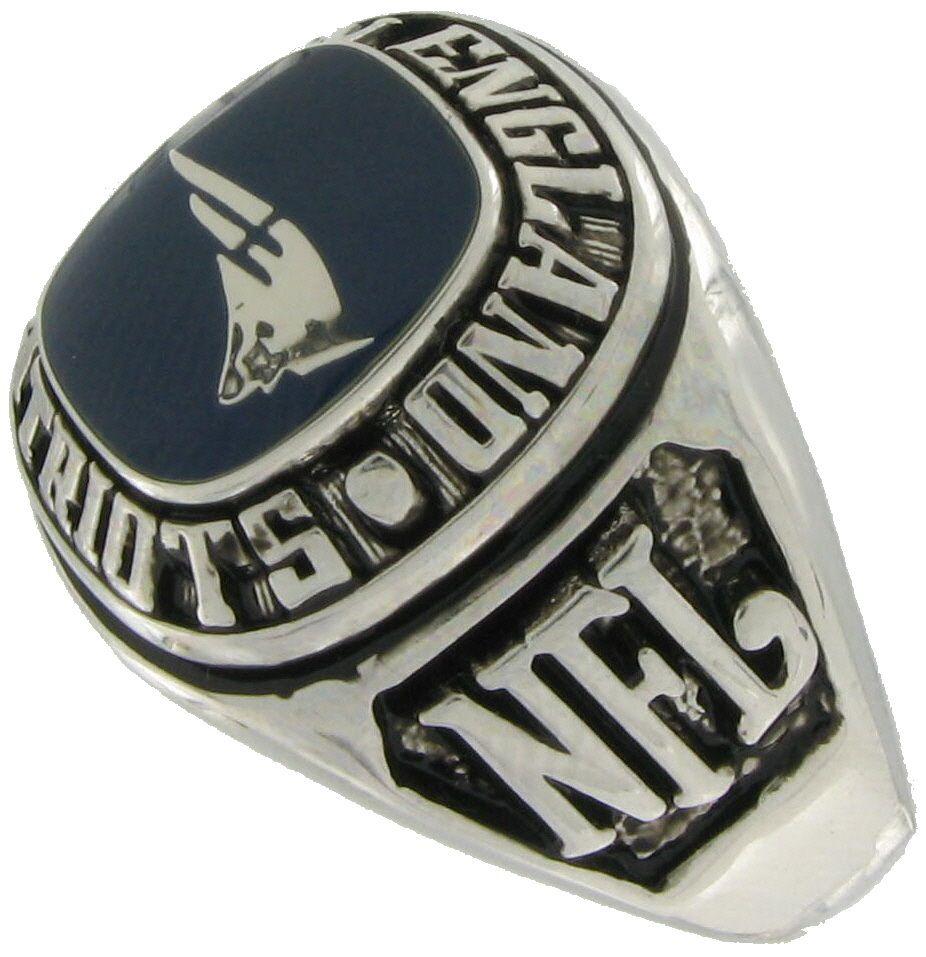 Balfour Ring Football NFL Team New England Patriots Sz 13 5