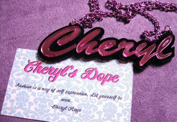 Nicki Minaj Barbie Name Necklace Custom Made with Free Gift