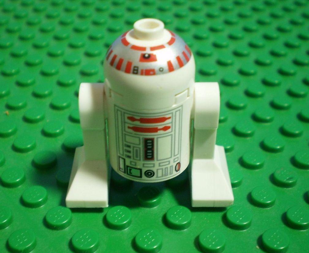 R5 D4 R5D4 LEGO MINI FIG FIGURE STAR WARS DROID minifig   similar to