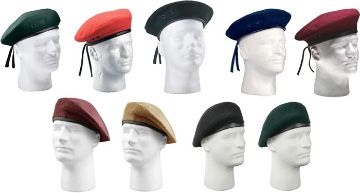 Military Inspection Ready Army Wool French Berets