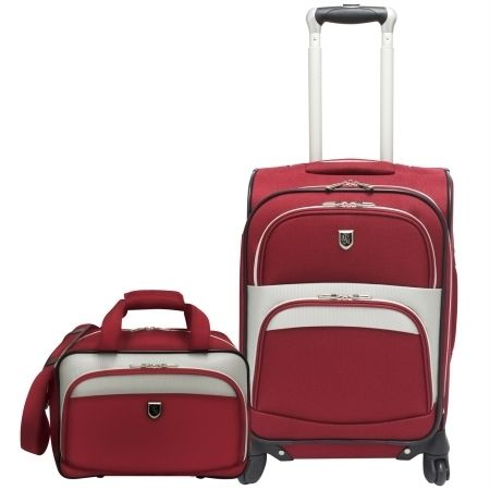 Travelers Choice Beverly Hills Country Club 2 piece Carry On Spinner