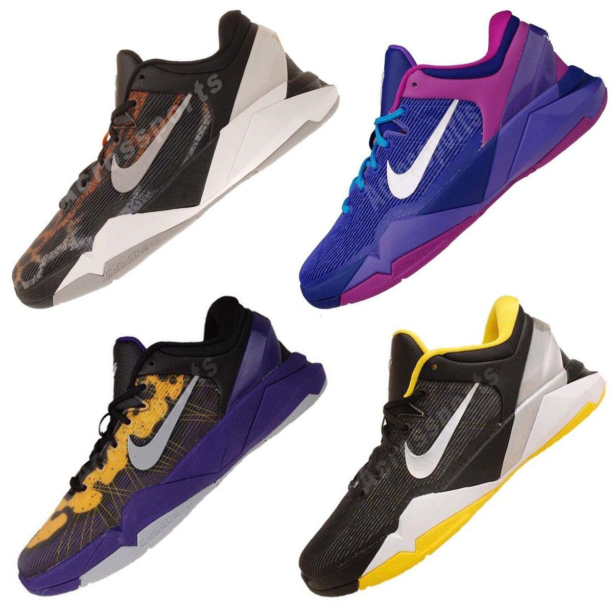 adc0d7bd7e11 Nike Kobe VII 7 GS Youth Big Kids Boys Girls Womens Basketball Shoes