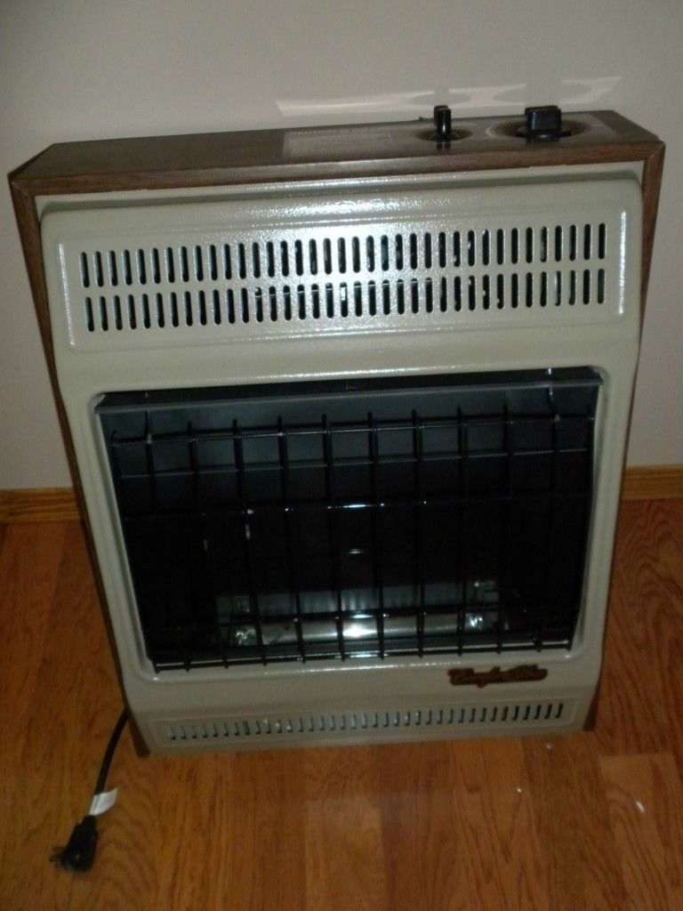COMFORT GLOW Blue Flame Natural Gas Ventless 20 000 BTU Heater With