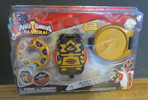 NEW Power Rangers Samurai Black Box Morpher w/ Cool Sound Effects