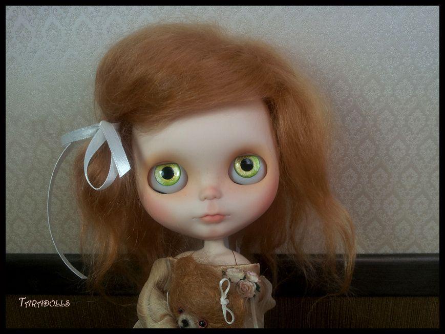 Taradolls Lutine Choupi Custom Blythe Doll Art OOAK Mohair Reroot