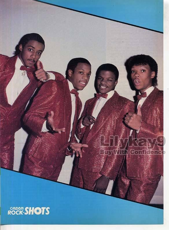New Edition Mini Poster Pin Up Bobby Brown Boy Band LK9